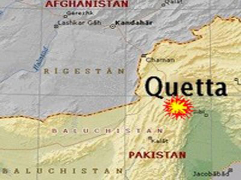 کوئٹہ کے علاقے میاں غنڈی میں ریموٹ کنٹرول بم دھماکے کے نتیجے میں دو افراد زخمی ہوگئے۔