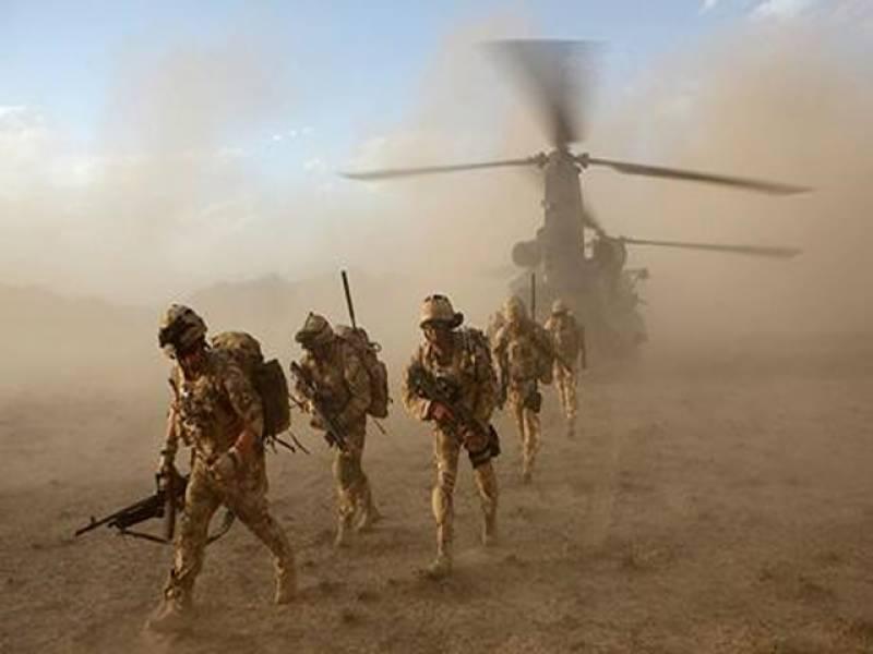امریکہ نےافغانستان میں شمالی وزیرستان سے جڑےسرحدی علاقوں میں جنگی سامان پہنچاکر سینکڑوں فوجی تعینات کردئیے ہیں ۔