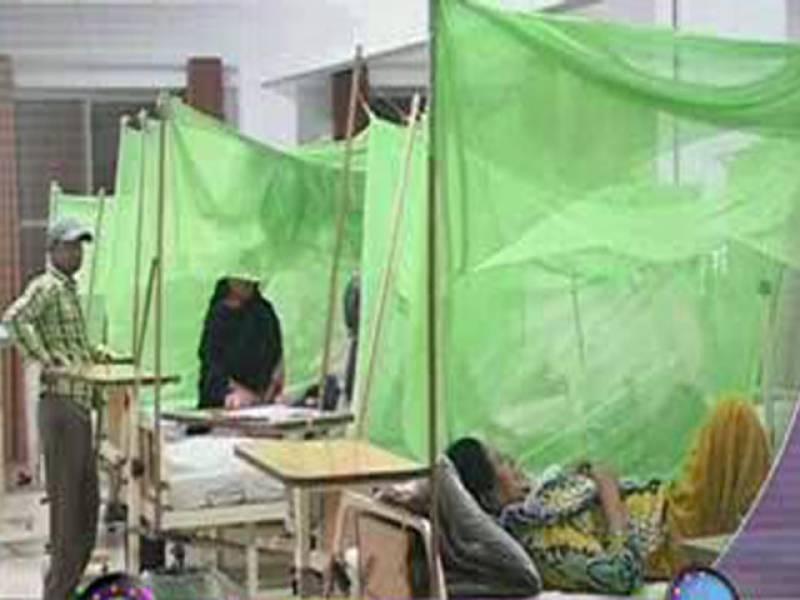 لاہور، ڈینگی کے باعث آج دو خواتین سمیت مزید تین افراد دم توڑگئے، چوبیس گھنٹوں میں مرنے والوں کی تعداد نو ہوگئی ۔