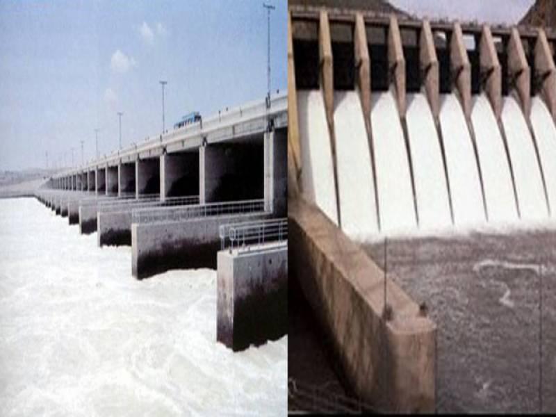 ڈیموں میں پانی کی آمد کاسلسلہ جاری، تربیلا اورمنگلا ڈیم میں پانی کی سطح اپنےانتہائی لیول سےکم ہوناشروع ہوگئی ۔