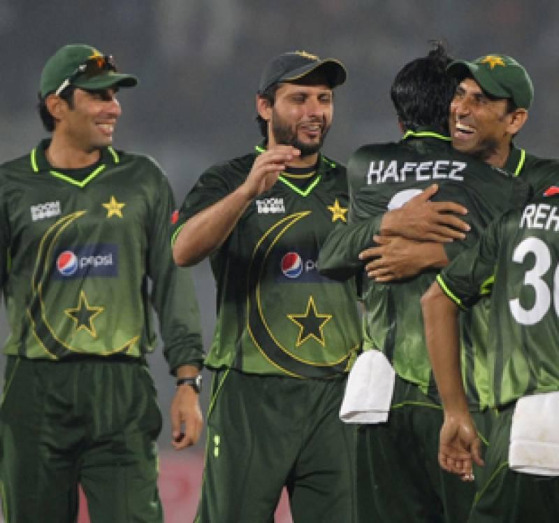 پاکستان نے بنگلہ دیش کوتیسرے ون ڈے میں اٹھاون رنز سے شکست دیکر سیریز میں کلین سویپ کردیا۔