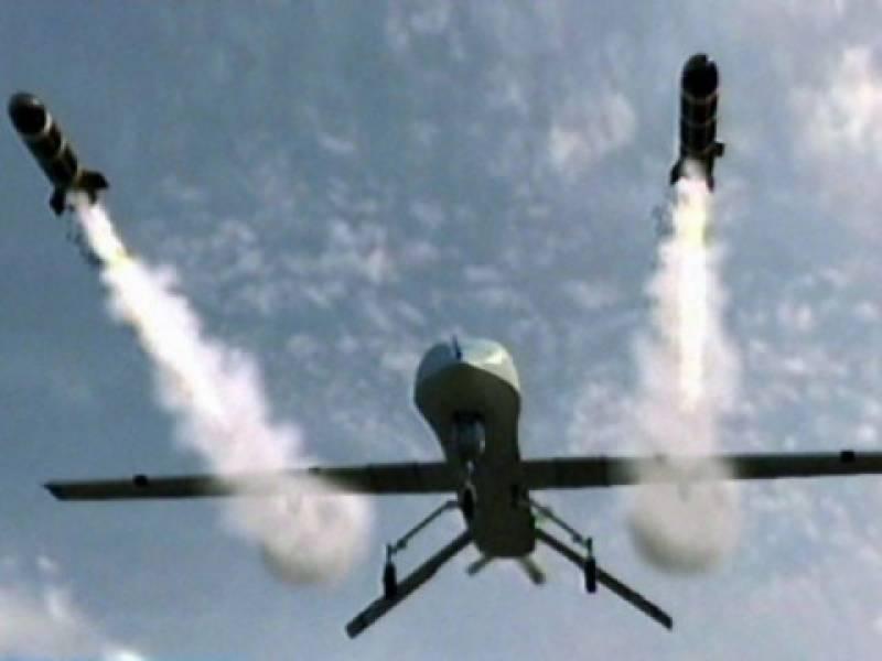 شمالی وزیرستان، میران شاہ میں جاسوس طیارے کےمیزائل حملے، چارافراد مارے گئے۔
