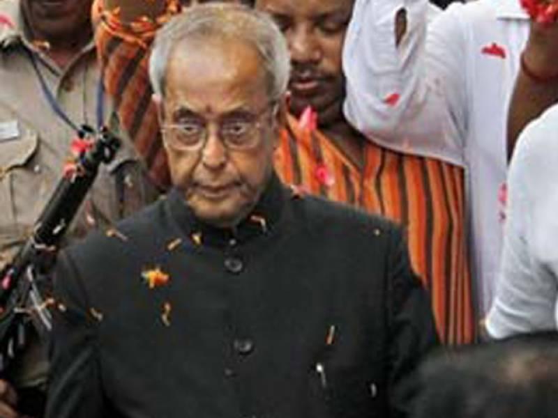 بھارت میں حکمران اتحاد کے صدارتی امیدوار پرناب مکھر جی ملک کے تیرہویں صدر منتخب ہو گئے ہیں۔
