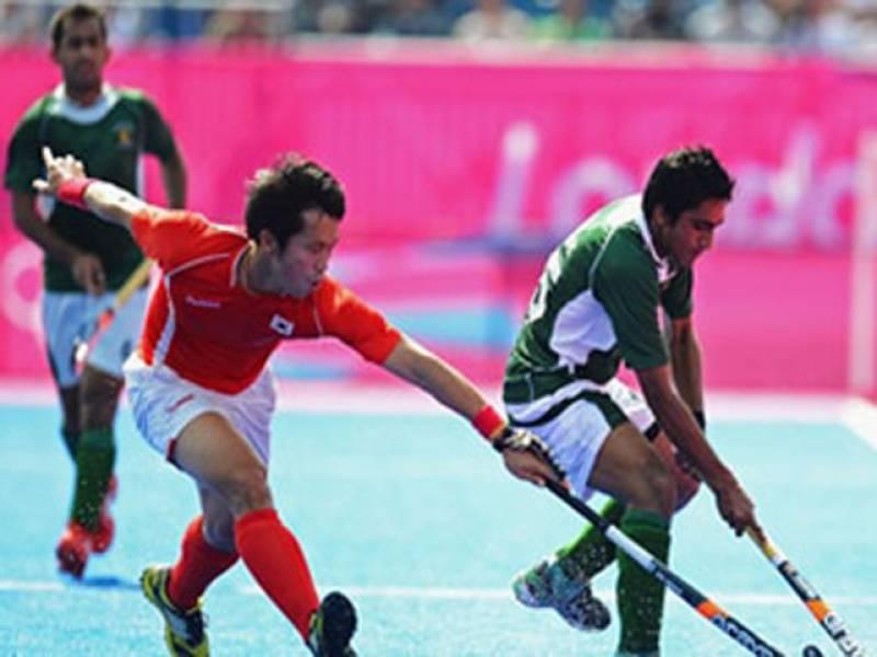 لندن اولمپکس کے مینز ہاکی ایونٹ میں پاکستان نے جنوبی کوریا کو دو کے مقابلے میں تین گول سے شکست دیکر ساتویں پوزیشن حاصل کرلی۔