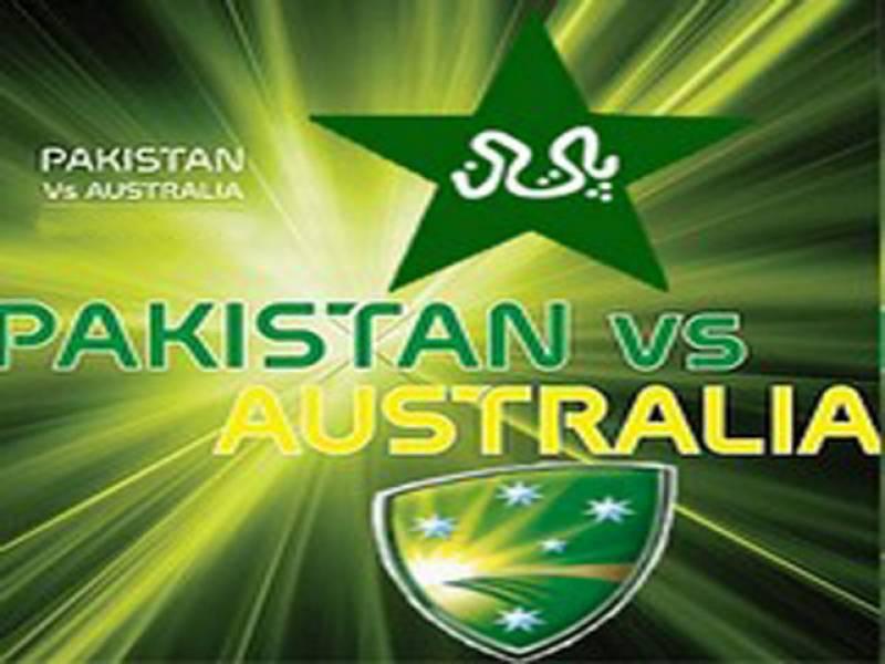 پاکستان اور آسٹریلیا کی کرکٹ ٹیموں کے درمیان تین ایک روزہ بین الاقوامی کرکٹ میچوں پر مشتمل سیریز کا پہلا میچ کل شارجہ کرکٹ اسٹیڈیم میں کھیلا جائے گا۔