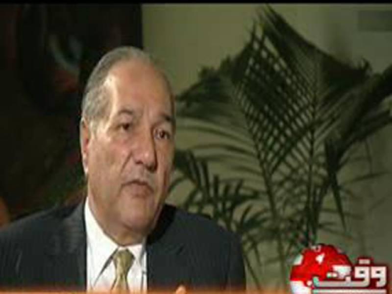 وفاقی وزیرپانی وبجلی چوہدری احمد مختارسے پاکستان میں تعینات تاجکستان کے سفیرزبید اللہ نے اسلام آباد میں ملاقات کی جس میں دوطرفہ امور پر تبادلہ خیال کیا