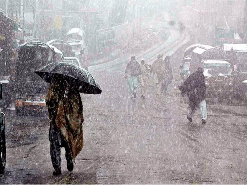 آزاد کشمیر سمیت ملک کے تمام بالائی علاقوں میں آج بھی برفباری اور بعض حصوں میں بارش کے بعد موسم شدید سرد