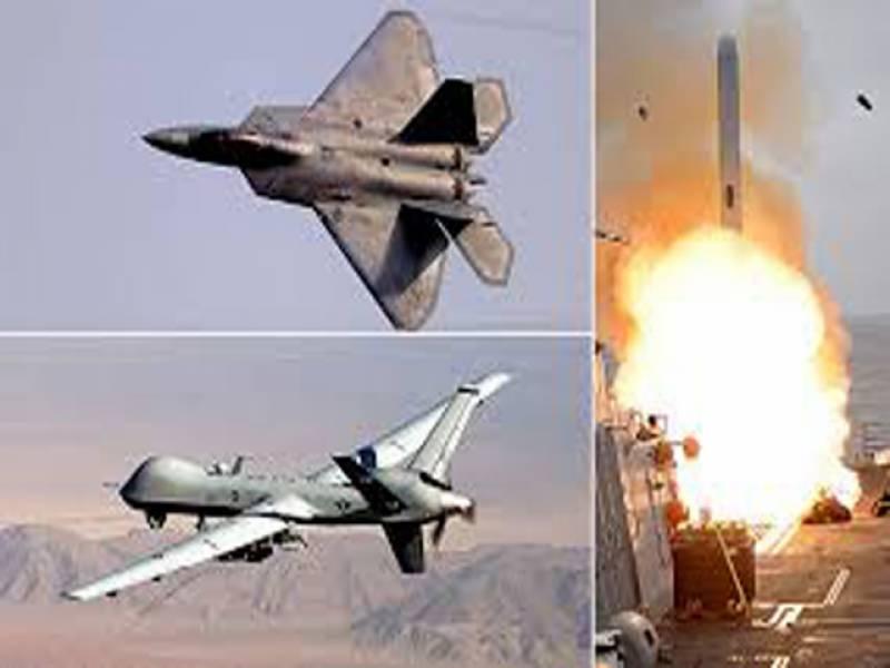 امریکا نےعراقی صوبے تکریت میں داعش کے ٹھکانوں پر فضائی کارروائیاں شروع کردی