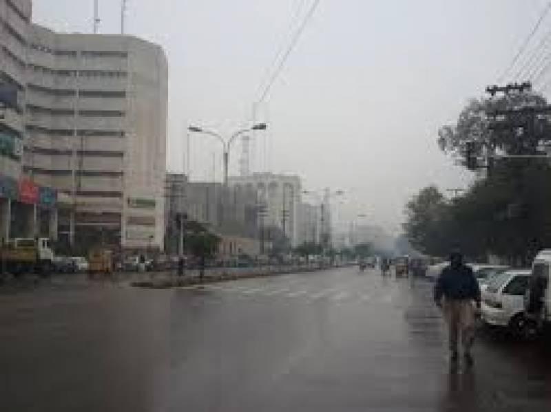 ملک کے مختلف شہروں میں وقفے وقفے سے بارش کا سلسلہ جاری ہے