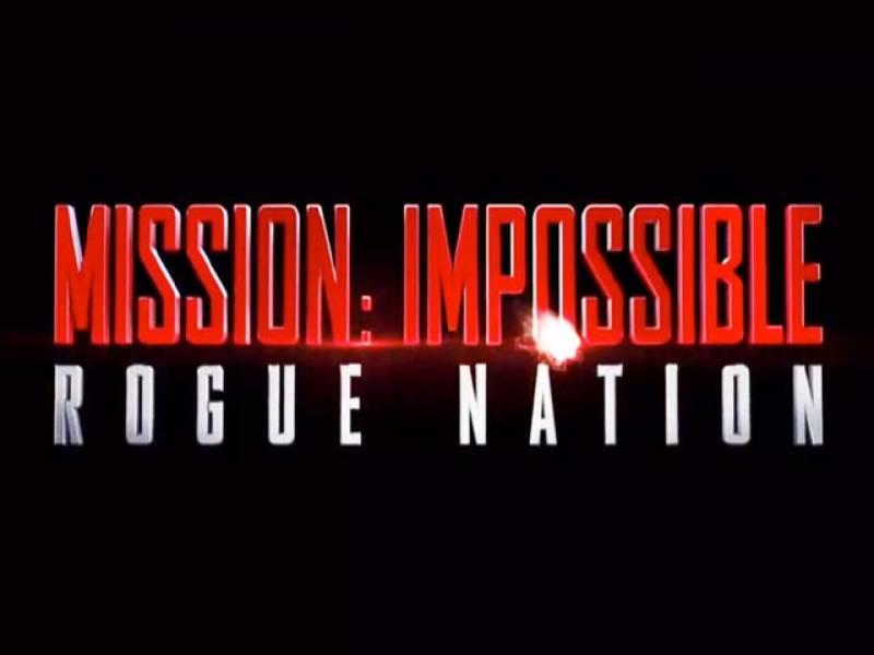 مشن امپوسبل روگ نیشن کا نیا ٹریلر ریلیز کر دیا گیا ہے،فلم اکتیس جولائی سے امریکی سنیما گھروں کی زینت بنے گی
