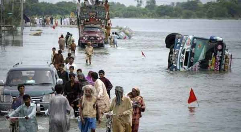 چترال میں قیامت خیز سیلابی ریلے کی تباہ کاریاں جاری