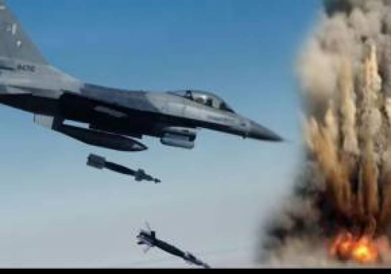 شمالی وزیرستان میں دہشتگردوں کیخلاف جیٹ طیاروں کی بمباری,  22 دہشتگرد ہلاک, 6 ٹھکانے تباہ