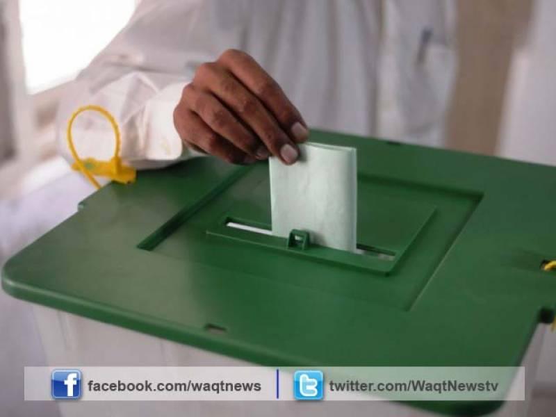 بلدیاتی انتخاب کے پہلے مرحلے میں  پنجاب کے12 اور سندھ کے 8 اضلاع میں  آج پولنگ ہورہی ہے