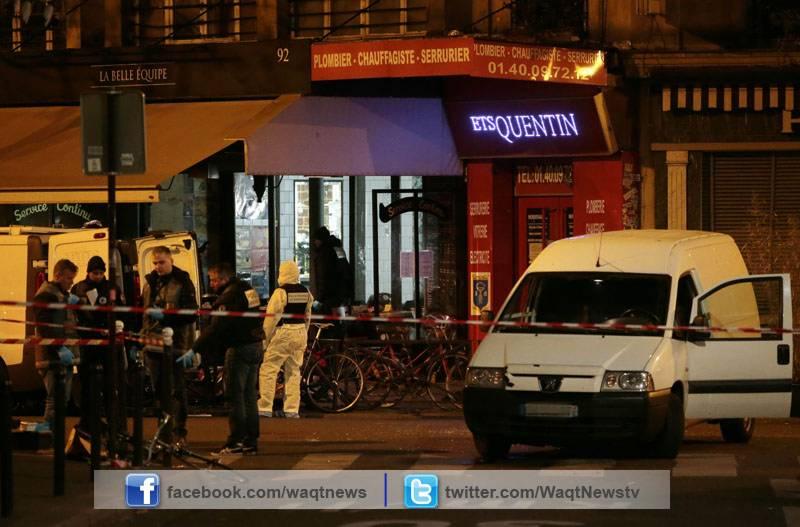 پیرس میں دہشتگردوں کےحملے اور ہلاکتوں پر اقوام متحدہ,امریکی صدر اور ڈیوڈ کیمرن سمیت عالمی برادری کی بھرپور مذمت ۔