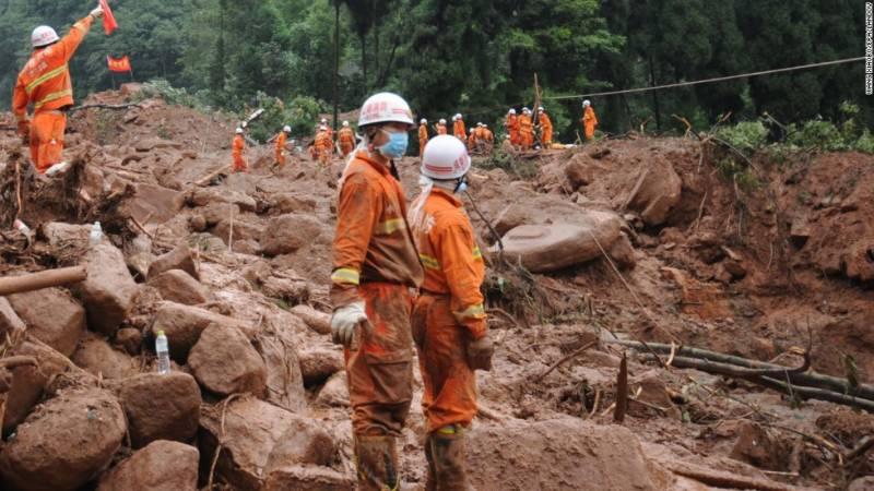 مشرقی چین کے صوبے میں مٹی کا تودہ گرنےسے 7 افرادہلاک اورکئی زخمی ہوگئے