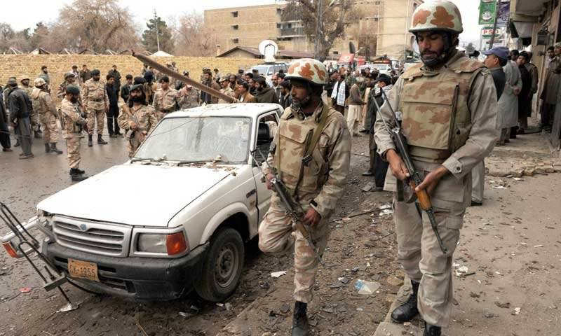 ننکانہ صاحب کے علاقے شاہ کوٹ میں محکمہ انسداد دہشت گردی کی کارروائی , پانچ دہشت گرد ہلاک , اسلحہ برآمد