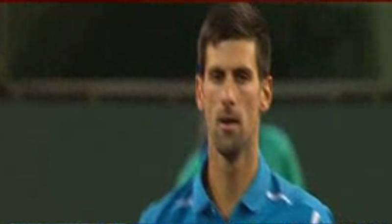 نڈین ویلز ٹینس ٹورنامنٹ کےمینز ایونٹ میں نوواک جوکووچ ،کے نشکوری اورجو سانگا نےاپنےاپنےمیچزجیت لیے
