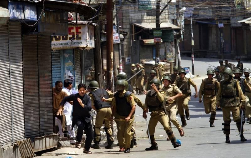 مقبوضہ کشمیر میں جابر بھارتی فوج نے نہتے اور مظلوم کشمیریوں کے خلاف قتل و غارت کا سلسلہ بند نہ کیا