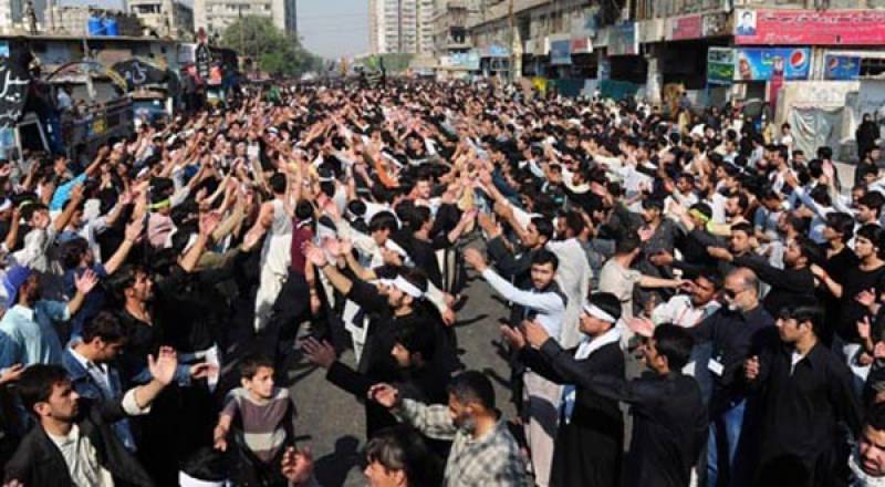 ملک بھر کی طرح کراچی میں بھی یوم عاشور کا مرکزی جلوس اختتام پذیر ہو گیا۔