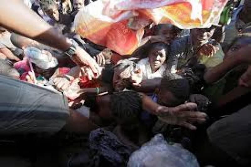 ہیٹی کے متاثرین کیلئے عالمی امدادی کا سلسلہ جاری ہےملک میں بیرونی امداد کے ذریعے حالات معمول پر لانے کی کوششیں کی جا رہی ہیں