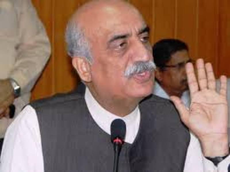 خورشید شاہ  کا کہنا ہے کہ عمران خان خود نواز شریف کے خیر خواہ ہیں۔