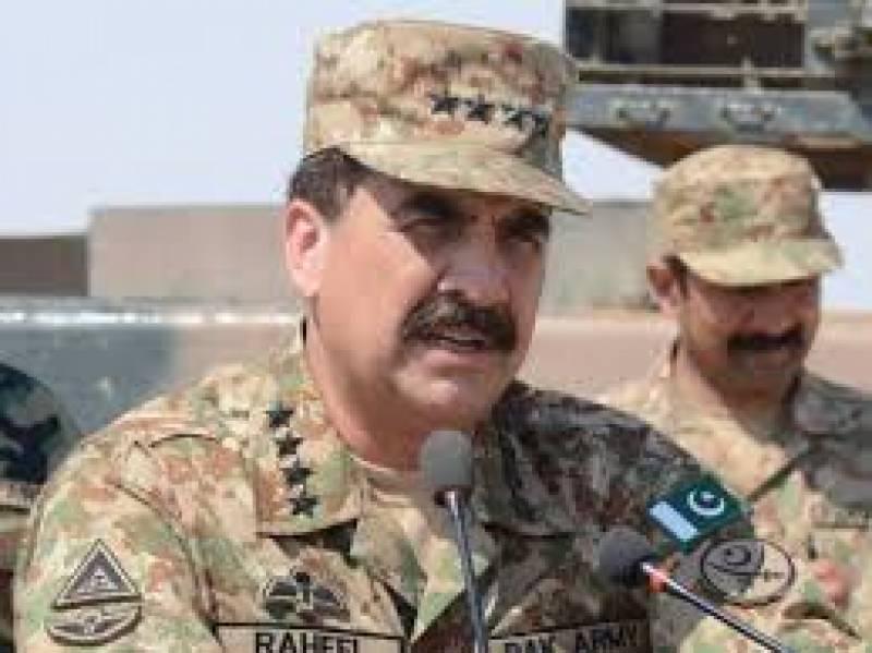 آرمی چیف جنرل راحیل شریف نے10دہشت گردوں کی سزائے موت کی توثیق کر دی