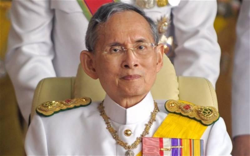 تھائی لینڈ کے شاہ بھومی بول اٹھاسی برس کی عمرمیں انتقال کرگئے حکومت نےطویل عرصےتک حکمران رہنےوالےبادشاہ کاسوگ ایک سال تک منانےکااعلان کردی