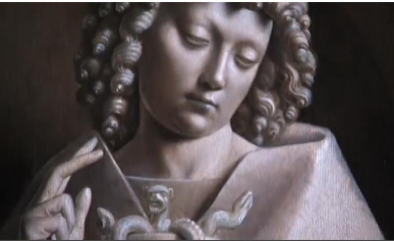 آرٹ مؤرخین کے اواخر قرون وسطی کے فن کی سب سے اہم ٹکڑوں میں سے ایک کا پہلا مرحلہ مکمل