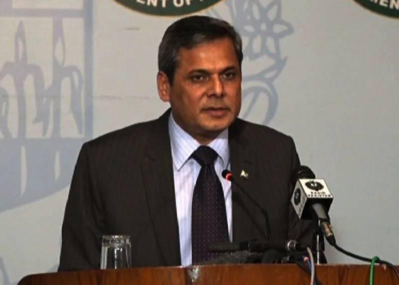 مقبوضہ کشمیر کی بگڑتی صورتحال پاکستانی عوام  اور حکومت کیلئے باعث تشویش ہے : ترجمان دفتر خارجہ نفیس زکریا