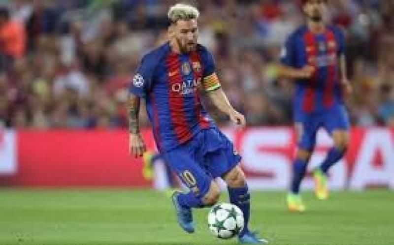 فٹبال کِنگ لیونل میسی نے مانچسٹر سٹی کا دھڑن تختہ کردیا