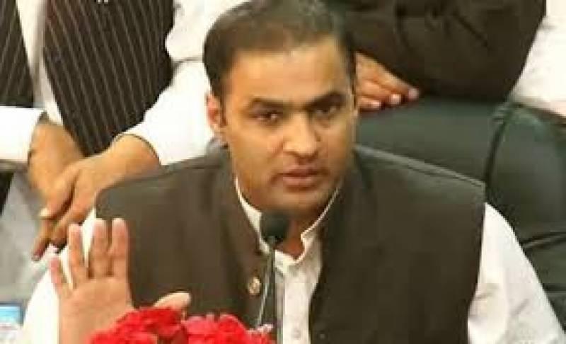 وزیرمملکت پانی وب جلی عابد شیرعلی نے سیاسی مخالفین پر بجلیاں گرا دیں