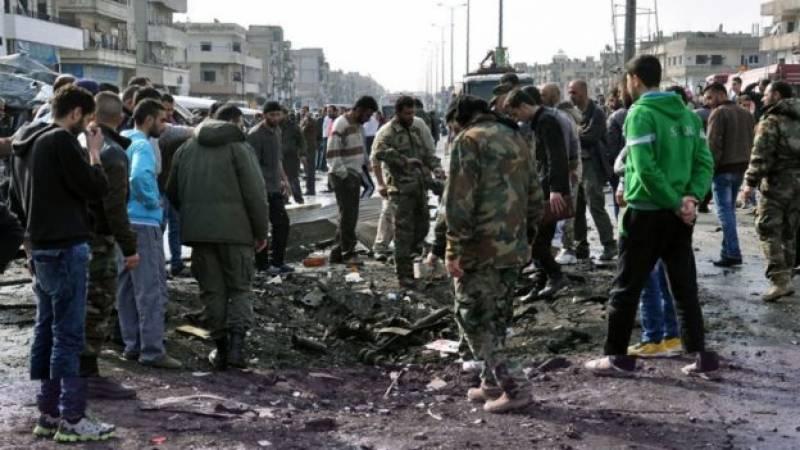 شام کے دارالحکومت دمشق میں سیکیورٹی چیک پوسٹ پرکار بم حملےمیں پانچ افراد ہلاک اورپندرہ زخمی ہوگئے