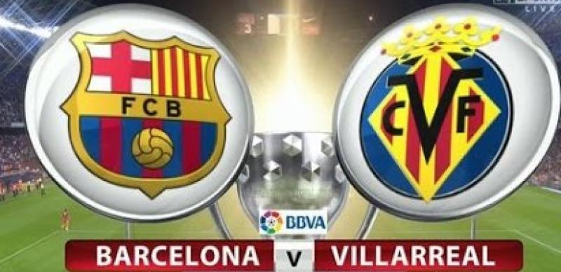 بارسلونا اور ویلا ریال کے درمیان میچ سنسنی خیز کھیل کے بعد ایک ایک گول سے برابر ہوگیا