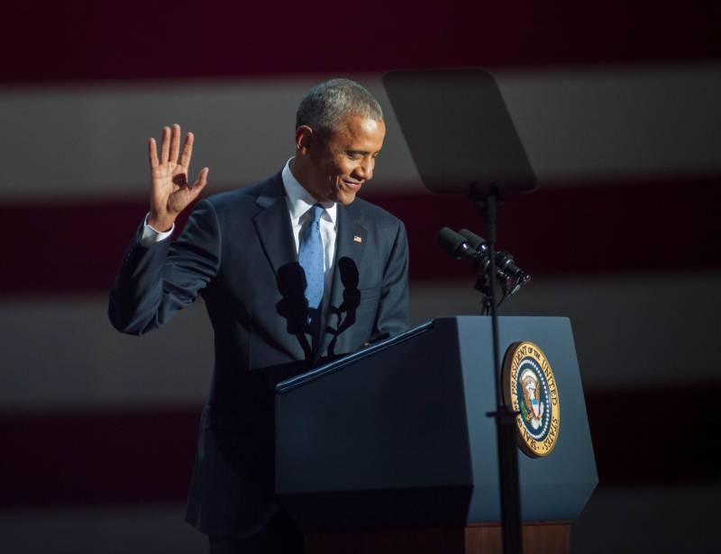 امریکا  کا مستقبل محفوظ ہاتھوں میں ہے۔ باراک اوباما نے بطور امریکی صدر قوم سے الوداعی خطاب