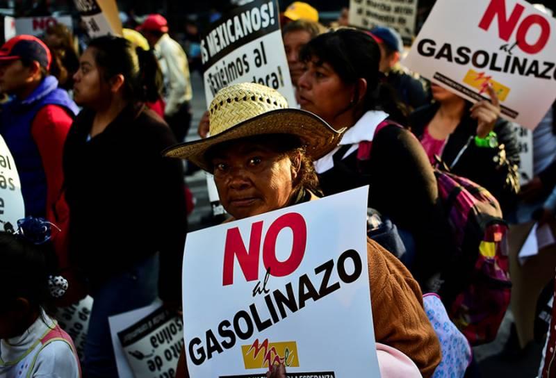 میکسیکو: ایندھن کی بڑھتی قیمتیں،صدر سے استعفی کا مطالبہ