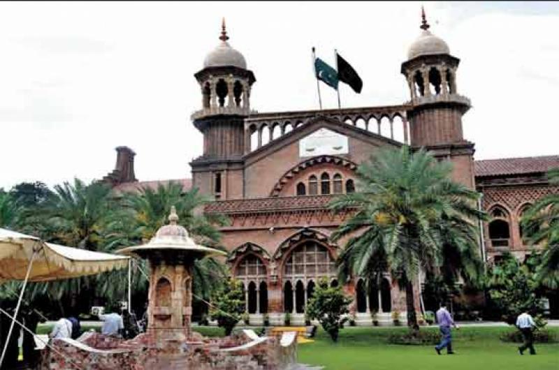 دہشت گردی کے خاتمے کے لئے پنجاب میں گورنر راج  نافذ کرنے اور رینجر کی تعیناتی کے لئے لاہور ہائیکورٹ میں درخواست دائر