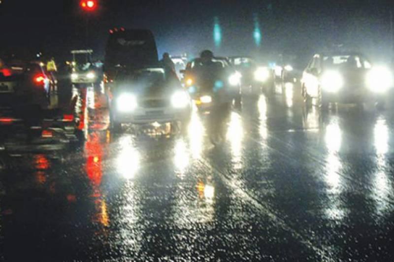 لاہور سمیت پنجاب کے مختلف شہروں میں بارش, موسم خوشگوار