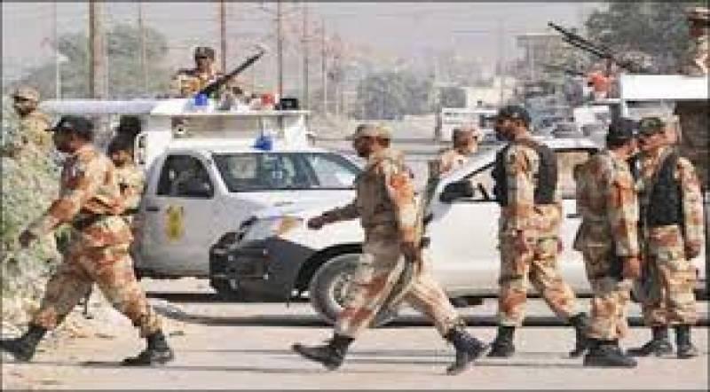 ملک کے مختلف شہروں میں آپریشن رد الفساد کے تحت کاررئیوں کا سلسلہ جاری۔