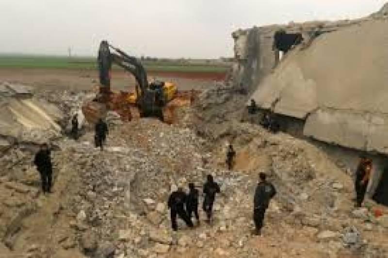 امریکہ نے شام میں القاعدہ کے خلاف فضائی کارروائی میں مسجد کو ہدف بنانے کی خبر کی تردید کر دی۔