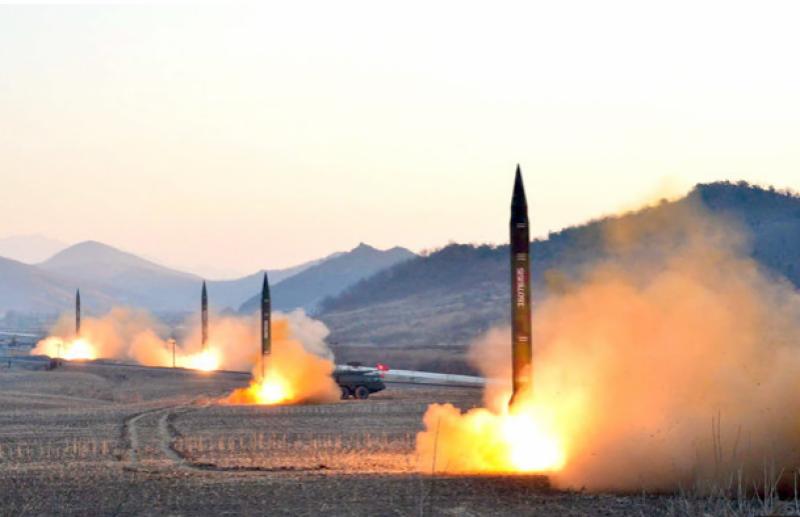 شمالی کوریا نے نئے ہائی پرفارمنس راکٹ انجن کا تجربہ کرلیا ۔۔۔۔