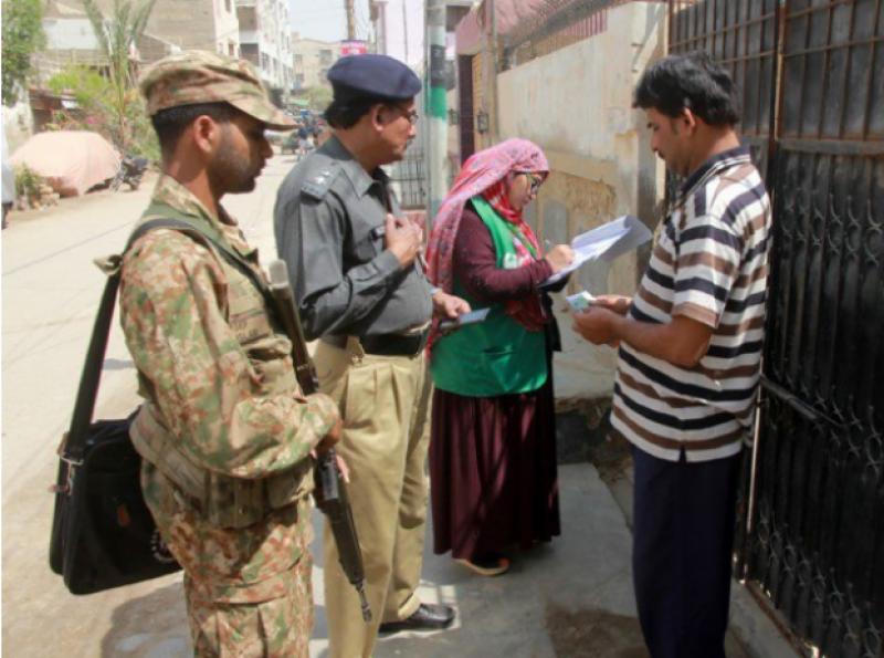 ملک بھر کی طرح کراچی میں بھی آج دوسرے روز مردم شماری کا سلسلہ جاری رہا۔