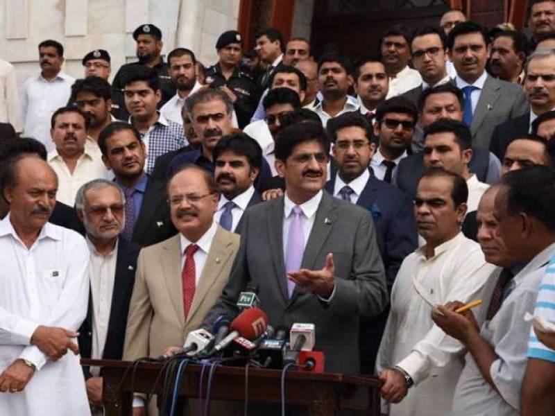 پیپلز پارٹی کے کارکن کہیں بھاگنے والے نہیں، ہمیشہ عدالتوں کا احترام کیا،شرجیل میمن کیسز کا سامنا کرنے آئے ہیں, وزیراعلی سندھ مراد علی شاہ