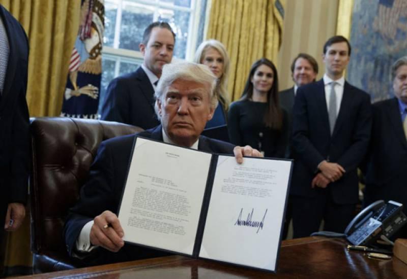 ڈونلڈ ٹرمپ نے متنازعہ کیسٹون ایکسل آئل پائل لائن منصوبے کی منظوری دےدی۔