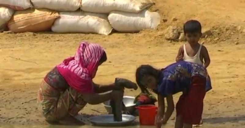 میانمارمیں مسلمانوں پر مظالم کا سلسلہ جاری ہے،روہنگیا کے ہزاروں مسلمان ہجرت کرکے بنگلہ دیش آگئے