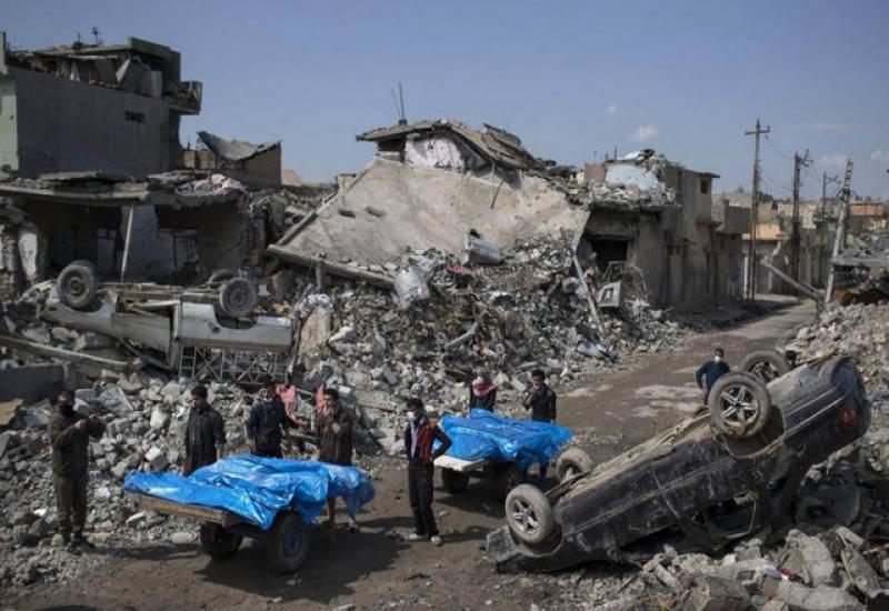 موصل میں عام شہریوں کی ہلاکت کا ذمہ دار امریکہ ہوسکتا ہے۔ امریکی جنرل