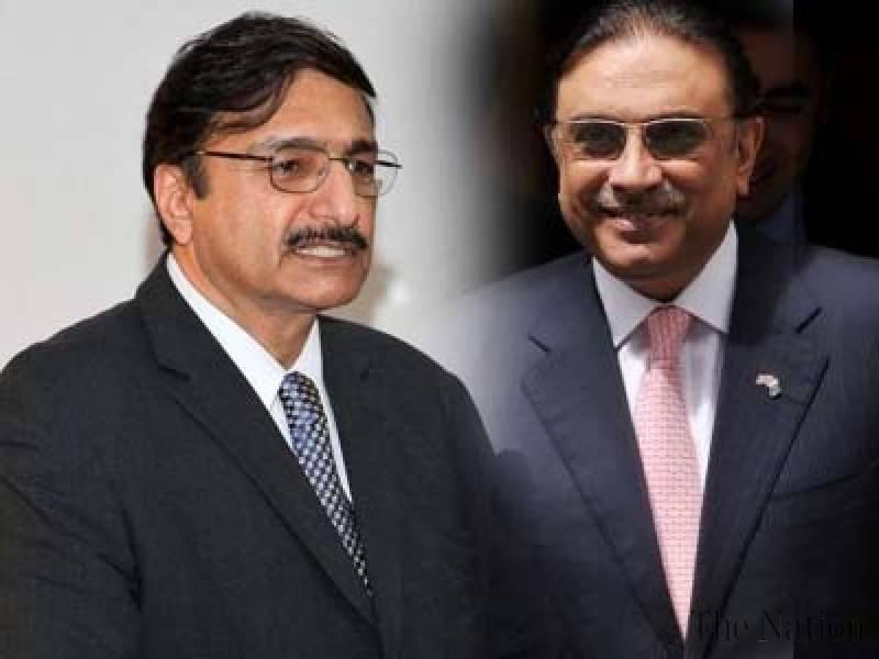 سابق صدر آصف علی زرداری کا سابق چئیرمین پی سی بی ذکاء اشرف سے، اہم سیاسی امور پر تبادلہ خیال