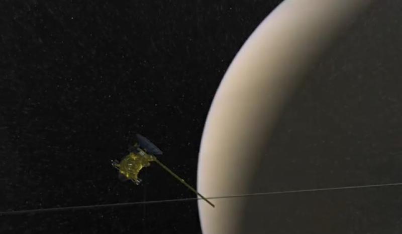 سیارہ زحل پر زندگی کے روشن امکانات موجود ہیں: ناسا