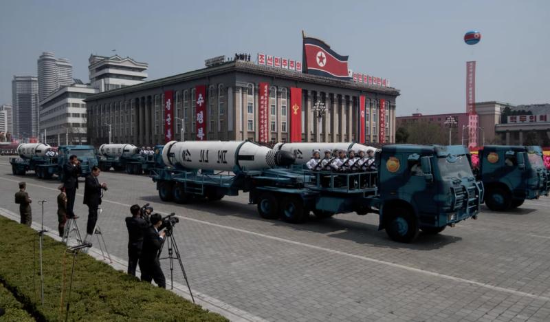 شمالی کوریا کا میزائل تجربہ ناکام ہو گیا،،،