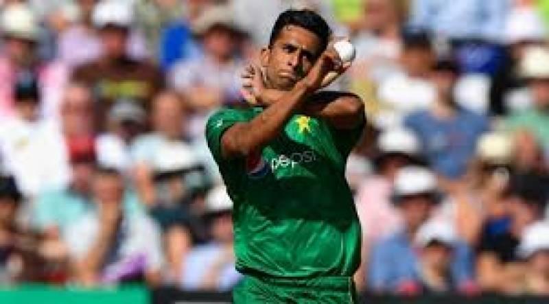 دورہ ویسٹ انڈیز کے دوران پریکٹس میچ کھیلتے ہوئے پاکستانی فاسٹ بالر حسن علی زخمی ہو گئے