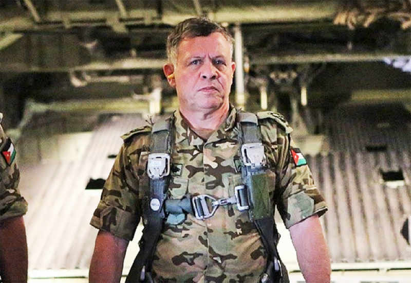 اردن کے شاہ عبداللہ نے فوجی مشقوں میں بطور فوجی شریک ہوکر سب کو حیران کردیا۔